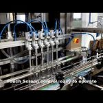 automată cu 6 capete care distribuie linia de umplere a lichidului de detergent cu clor