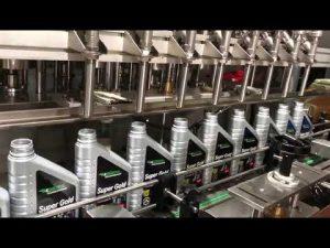 linie completă automată de lubrifiere cu ulei pentru lubrifianți cu piston