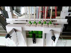 mașină de umplere lichidă dezinfectant cu acid hipocloros automat de vânzare la cald