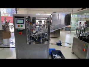 Mașină automată de umplere a tuburilor din plastic pentru pastă de dinți pentru cremă de mână