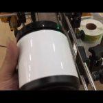 borcan de sticlă pentru animale de companie cutie de aluminiu și mașină de etichetare a autocolantului sticlei