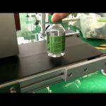 Masina de etichetat autocolant de birou pentru sticle de apa din plastic