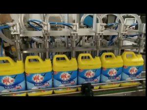 Mașină automată de umplere a sticlelor cu șampon cu detergent pentru rufe cu 8 capete
