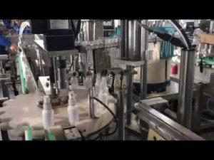 mașină de umplere lichid dezinfectant, mașină de umplere dezinfectanți cu etanol