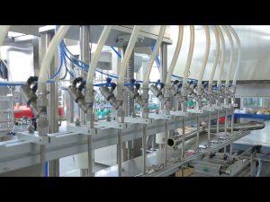 mașină de umplere a sticlei de săpun lichid dezinfectant
