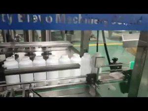 mașină de umplere a sticlei de detergent pentru rufe, linia de producție a lichidului de detergent pentru spălare