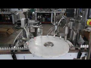 mașină automată de umplere a picăturilor de ochi, umplutură cu sticle mici și mașină de sigilare