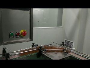 Mașină automată de dulceață de fructe borcan borcan cu sos de spălare de spălare masina de etichetare