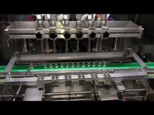 Mașină automată de umplere cu gel de dezinfectant pentru alcool pentru industria chimică zilnică