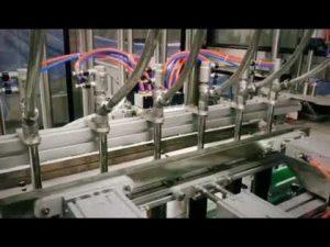 Detergent liniar automat cu piston, șampon, mașină de îmbuteliat lichide vâscoase cu ulei de lubrifiant