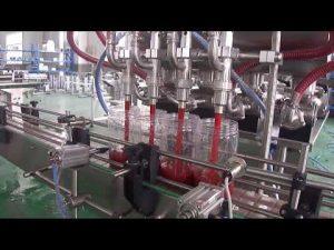 mașină automată de umplere a sticlelor de ulei de palmier