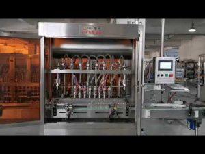 mașină completă automată de umplere cu sos de roșii