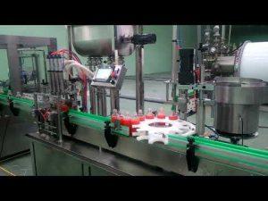 Masina de umplere si capsulare automata cu 4 capete