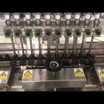 Mașină de umplere liniară cremă alcoolică lichidă, borcan de miere umplutură de ulei flacon mic