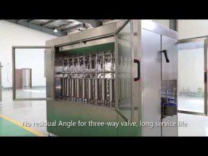 automată piston sticlă sticlă pet sticlă de umplere lichid capping linie de masini