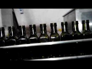 complet complet automat de ulei de măsline liniar cu 6 duze umplutură cu flacon de ulei
