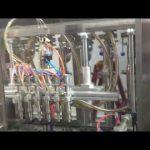 Mașini automate de umplere cu ulei de măsline sticle de sticlă