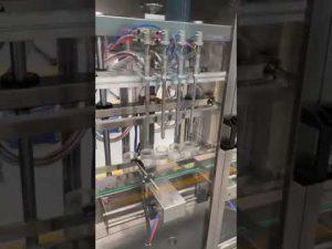 masina de umplere automata a sticlelor de parfum, masina de umplere cu lichid cu pret