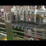 Mașină automată de umplere cu ulei de măsline cu piston de control plc