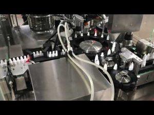 Mașină farmaceutică de umplere cu picături de ochi pentru flacon mic de 20 ml