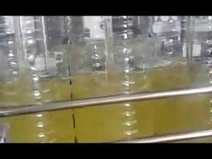 mașină automată de umplere a flaconului cu ulei comestibil