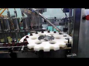 mașină de umplere și etanșare a uleiului de clorhidric hdpe fond de hiclă